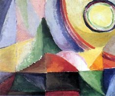 Electric Prisms ~ Sonia Delaunay