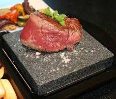 steak on rock tray - Google Search