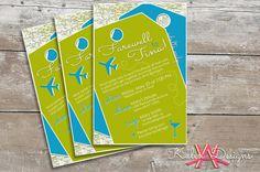 Printable Going Away Party Invitation | Custom Digital File on Etsy, $20.00