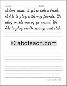 Cool Ways To Write Words make your own cursive writing sheets. great to make for the week's