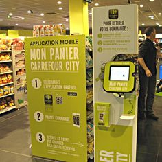 Carrefour uses NFC and QR codes to speed up grocery shopping