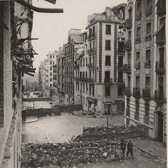 Altamirano, 36; Madrid, durante la Guerra Civil. Archivo Rojo.