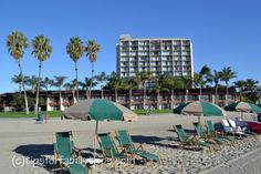 Looking for a family hotel in San Diego? Here is our review of the Catamaran Resort on Mission Bay.  | TipsforFamilyTrips.com #SanDiego