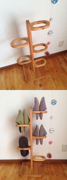 Wooden hanger slippers