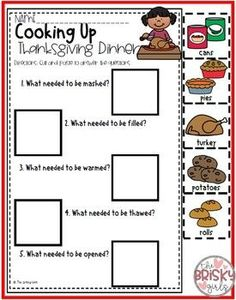 Thanksgiving Guided Reading Pack