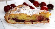 Oggi crostata frangipane con ciliegie!   E' una deliziosa crostata con crema frangipane, che si abbina perfettamente con questo fr...