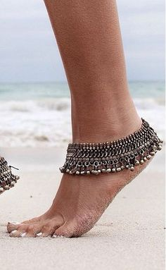 Authentic Tribal Anklet // Kuchi Nomads // PRE ORDER // Belly Dance Original // India // Bohemian Tribal Ethnic Gypsy Boho // Ankle Bracelet