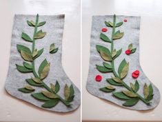 12 DIY Christmas Stockings - Handmade Holiday Inspiration