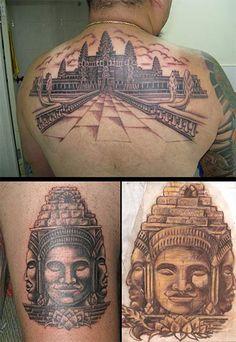 angkor wat cambodia tattoo
