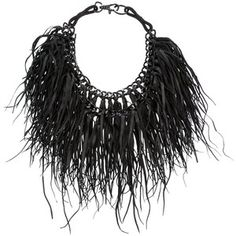 KAPOW WOW! Leather chain necklace