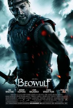 Beowulf with Ray Winstone, Angelina Jolie, Anthony Hopkins, Robin Wright, Crispin Glover and John Malkovich Streaming Movies, Hd Movies, Movies To Watch, Movies Online, Hd Streaming, Movies Free, Action Movies, John Malkovich, Epic Movie