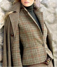 Ralph Lauren tweed (detail)
