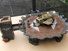 Digits's Drogans - lots of conversions, off the wall ideas and a dose of lunacy! Game Terrain, 40k Terrain, Wargaming Terrain, Model Castle, Warhammer Imperial Guard, Warhammer Terrain, Tabletop, Sci Fi Models, Warhammer 40k Miniatures