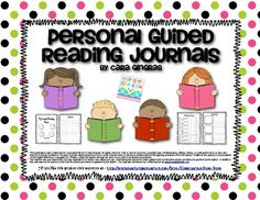 Personal Guided Reading Journals - This is a journal for you to use with your students during guided reading groups. $