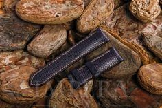 Purple Karung Snake Skin Watch Strap,https://www.imperastraps.com