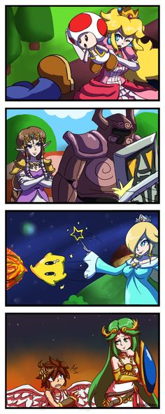 Super Smash Bros. Defensive Moves <<< SPIRIT TRACKS THEY USED ZELDA'S ARMOR SUIT POSSESSED THING FROM SPIRIT TRACKS