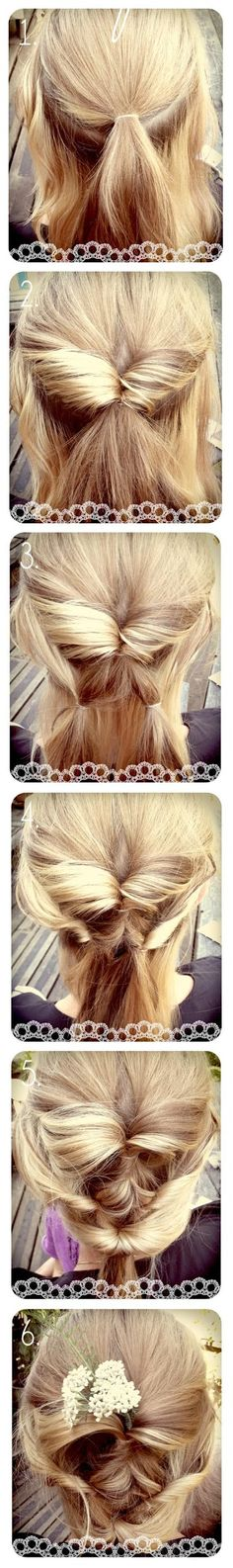 Make a Diy Wedding Hair | hairstyles tutorial, easy to do <3