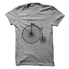 I Love Penny farthing bicycle T-Shirts