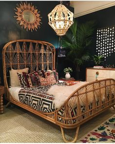 Boho home interior design to inspire you in creating a beautiful and cozy home that reflects your creativity. // boho home interior living rooms / Bohemian House decor diy / Bohemian House decor apartment therapy / dream bedroom ideas for women Bohemian Bedroom Decor, Boho Decor, Boho Theme, Gypsy Bedroom, Teal Bedroom Decor, Bohemian Room, Bedroom Black, Modern Hippie Decor, Grey Couch Decor