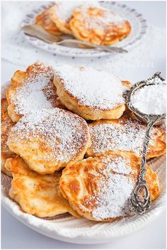 placuszki serowe Delicious Desserts, Dessert Recipes, Yummy Food, Gourmet Cooking, Cooking Recipes, Fall Recipes, Sweet Recipes, Food Photo, Love Food
