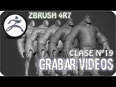 Zbrush en Español #19   Como grabar videos trabajando en Zbrush (Timelapse, F History)
