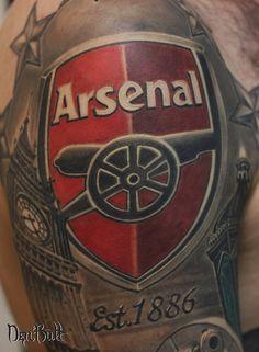 Tattoo Den Butt - tattoo's photo In the style Graphics, Male, Differe Arsenal Football, Arsenal Fc, Football Soccer, Arsenal Tattoo, Arsenal Wallpapers, Sport Tattoos, Mt Bike, English Tattoo, Future Tattoos