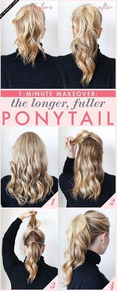 Top 10 Super Easy 5-Minute Hairstyles For Busy Ladies  doesn't it look like emma from once upon a time