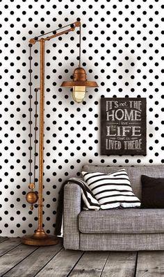 """Virlova Interiorismo: [Decotips] ¡A lunares! Los """"polka dots"""" en decoración"""