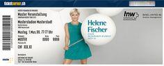 """Im Rahmen ihrer Konzertreihe """"Das Sommer-Event 2013"""" wird die beliebte Künstlerin am 04.07.2013 im St. Jakob-Park in Basel ein weiteres Konzert geben. Hole dir jetzt dein Fanticket auf www.ticketcorner.ch/helene-fischer als schöne Erinnerung!"""