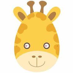 careta de jirafa