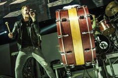 Imagine Dragons. That drum is the sickest part of the concert.