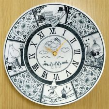 Moomin Valley x amabro Clock -black- by Tove Jansson Muumipeikkofrom Japan