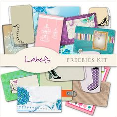 Freebies Labels Kit---- NOT for COMMERCIAL USE