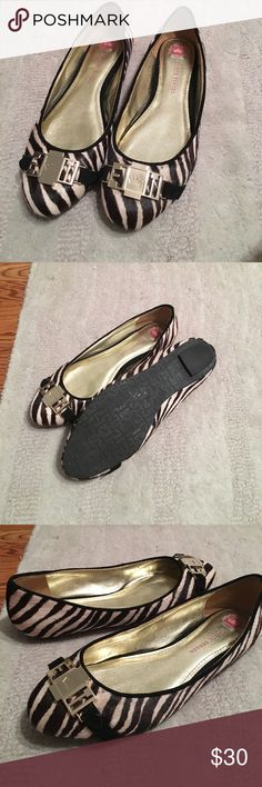 Elaine Turner flats Liz ballet flat, calf hair, adorable zebra print!  Coordinate great with so many outfits!! Elaine Turner Shoes
