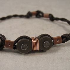 Find a CustomMade Maker and have your custom chain bracelet made today. Steampunk Crafts, Steampunk Design, Link Bracelets, Bracelet Making, Bike, Chain, Simple, Leather, Accessories