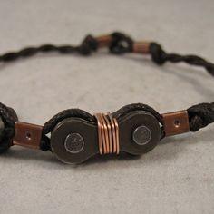 simple steampunk ideas | Simple Steampunk Bike Link Bracelet