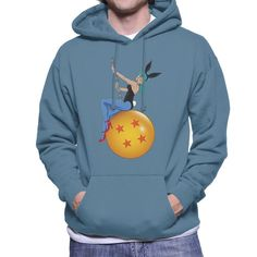 Shop Bunny Ball Bulma Dragon Ball Z Men's Hooded Sweatshirt by Samiel Art. Available on a range of apparel with international shipping.