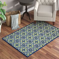 You'll love the Meriden Hand-Woven Blue Indoor/Outdoor Area Rug at Wayfair - Great Deals on all Rugs products with Free Shipping on most stuff, even the big stuff.