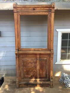 Antique-Bank-Post-Office-Teller-Window-Great-Historic-Piece-92-T-x-42-W