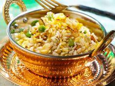 Découvrez la recette Riz biryani à l'indienne sur cuisineactuelle.fr.