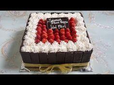 Cara Membuat Kue Blackforest Ucapan Selamat Hari Raya Idul Fitri Resep Kue Ulang Tahun Youtube Kue Kue Tart Kue Ulang Tahun