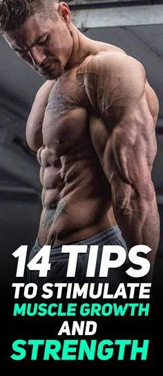 Check out The 14 Tips to Stimulate Muscle Growth and Strength! #fitness #gym #bodybuilding #workout #exercise
