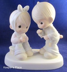 Precious Moments TO TELL THE TOOTH YOU'RE SPECIAL 1987 Figurine Tree Symbol Mint