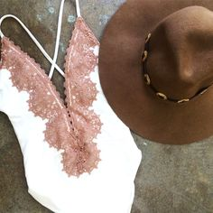 Swimsuits and wide-brimmed hats for all your Summer travel plans.