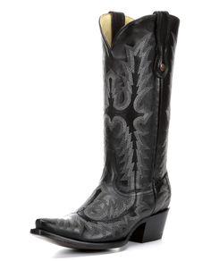 Boots inspired by Miranda Lambert: http://www.countryoutfitter.com/style/16-boots-inspired-miranda-lamberts-grammy-performance/?lhb=style
