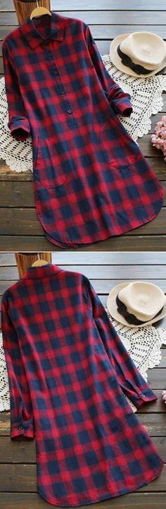 A true eye catcher that will bring attention your way for those wanting to. The casual plaid dress is so gorgeous for flattering fall. I could not love it more!