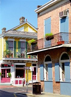 "New Orleans - French Quarter ""Round The Corner"" New Orleans Architecture, New Orleans French Quarter, New Orleans Louisiana, Crescent City, Night Life, Places To See, Beautiful Places, Around The Worlds, Croatia Travel"