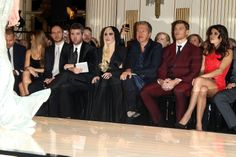 Lady Gaga during the Versace Fashion Show #2