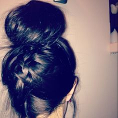 Saw some girl with her hair like this at the mall the other day. So cute