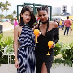"""Ria Michelle on Instagram: """"BFF life at @veuveclicquot's #vccarnaval #clicquotstyle"""""""
